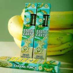 BANANA PUNCH EXOTIC VAPE CARTRIDGE