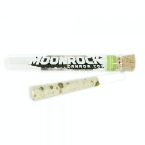 Green Apple Sativa moonrock preroll